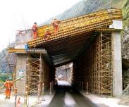 Falso Túnel doble calzada Bogotá-Villavicencio